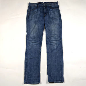 7 For All Mankind Standard 33 X 34 Medium Wash